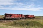CP 8758 Heads East Toward Minot