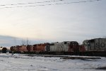 Five of the Six Geeps on this New Town Subidivision Freight Manifest