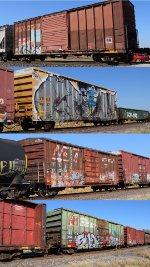 AZER TBOX FXE BKTY Boxcars