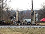 Latonia Depot After Fire