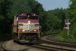 Outbound commuter rail