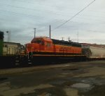 BNSF 1778 Sportin a fresh coat of H3 paint and all i had was an old cell phone