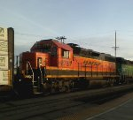 BNSF 2781 Sunrise in Vancouver