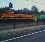 BNSF 2374 and 12216