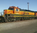 BNSF 1550 Wish they'd restore the old style cab. Not many SD9s working major railroads anymore!