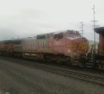 BNSF 875  So faded that it's become pink!