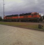BNSF 2727 and 2893
