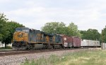 Eastbound CSX Freight on the BNSF
