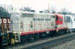 Buckingham Branch 8851 in tow
