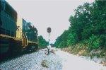 GP30 slug/GP40-2 north end Duke siding