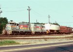 Seaboard System 4771/4792 switching cars in Pinoca yard
