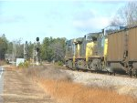 CSX hopper train