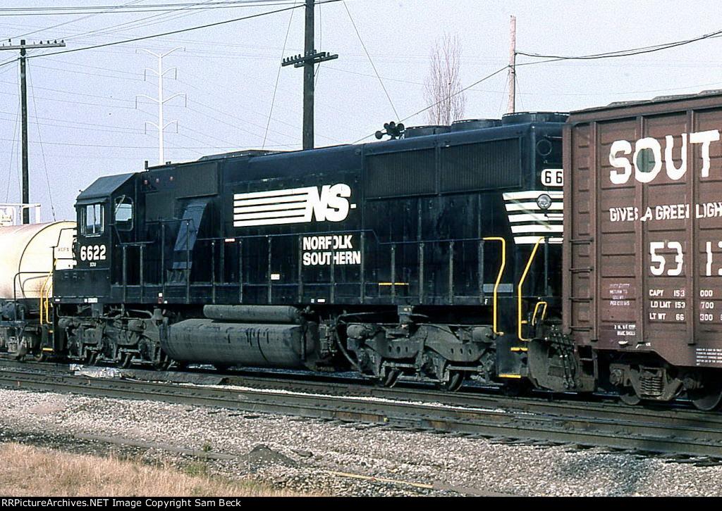 NS 6622 in Transit