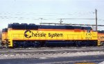 C&O 8574--New SD50