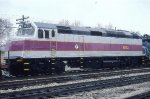 MBTA 1072--New F40PH-2C
