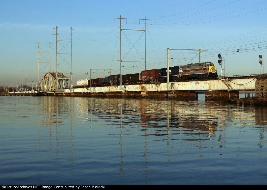 NS 1700 over Raritan River