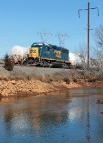CSX 4423 on the Amboy Secondary (SA31)