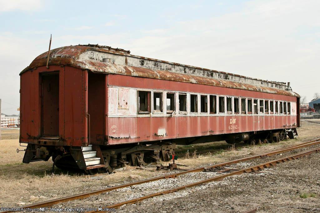 former L&N MofW passenger car