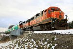 Plant transfer from Wichita on its final leg into Renton