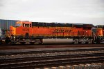 Roster shot of BNSF 6628 across from the Amtrak station