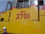 UP 2701 GEN SET