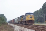 CSX 7802 on the siding