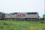 KCS 7005 waiting to go south