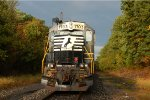 NS SD45-2 1703 leads OI16 on the Amboy Secondary