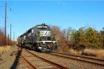 NS SD40-2 3376 w/ WPOI-16