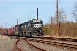 NS SD45-2 1700 leads OI16 into Browns
