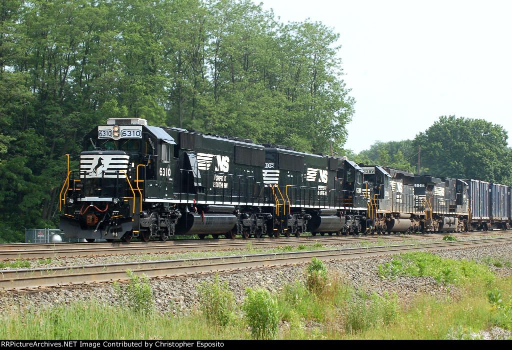 NS SD40E 6310 leads 65J