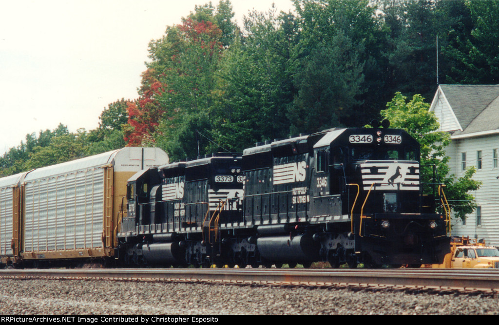 NS SD40-2 3346 & SD40-2 3373