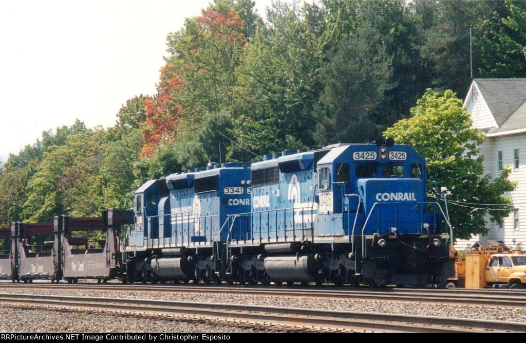 NS SD40-2 3425 & 3341