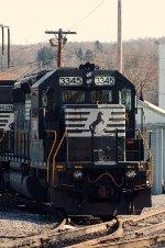NS SD40-2 3345