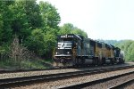 NS SD70 2516 leads 10N