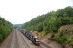 NS SD40E 6304 leads 68Q