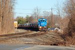 NS GP38-2 5290 leads MA80 as 18N passes on track 2