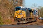 CSX ES40DC 5231 leads Q191