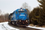 NS SD40-2 3360 on a light engine move