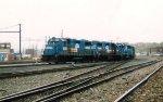Conrail GP38-2 8258 & 8262