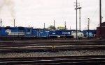 Conrail GP40-2 3331, 8-40CW 6138 & GP10 7563