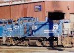 Conrail SW1500 9527