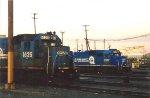 Conrail GP15-1 1625 & SD70 2567