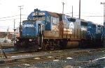 Conrail GP38-2 8262