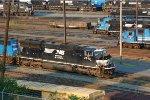 NS SD70M 2632 & 8-40C 8710