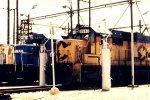 Conrail SD40-2 6440 & CSX SD50 8643