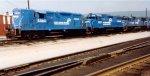 Conrail GP8 5460 & GP38-2 8062