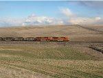 Coal train on the lakeside sub