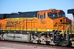 BNSF 7851 rolls into the BNSF Barstow yard as a # 3 unit on a eastbound Z.