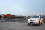 Southbound BNSF Officer Special Train